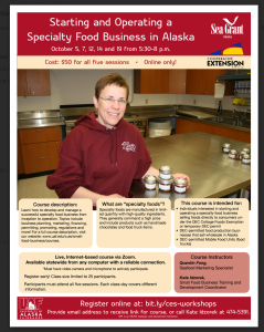 How to start a speciaty foods business in Alaska